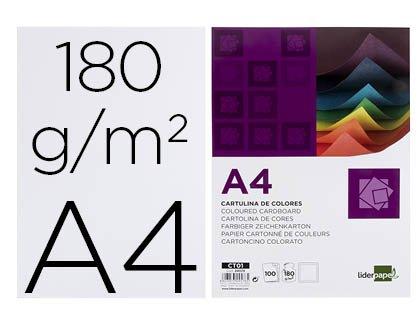 CARTOLINA A4/180GR.EMB. C/100FLS BRANCAS – 24578