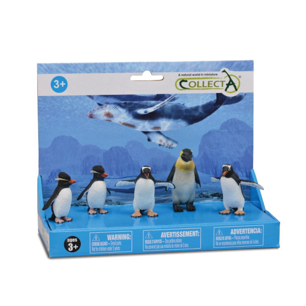 COLLECTA SET 5 PINGUINS