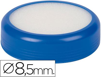 Esponjeira q-connect com base de borracha azul 52922