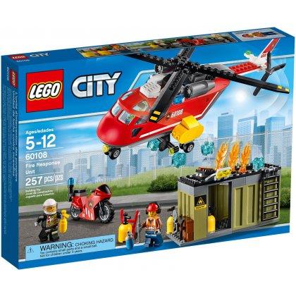 LEGO CITY CORPO DE INTERVENÇÃO DOS BOMBEIROS 60108