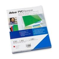 EMB C/100 CAPAS PVC OPACA PRETA 180MIC GBC