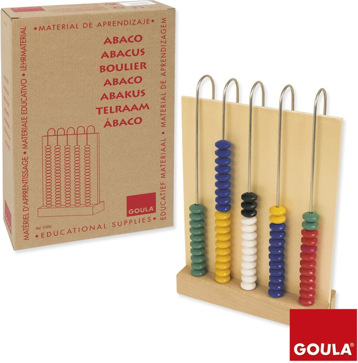 ABACO 5X20 MADEIRA GOULA * 51052