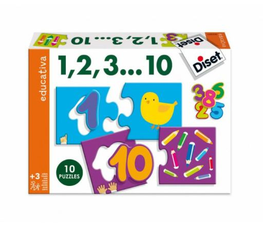 PUZZLE 1,2,3..10 DISET * P63301