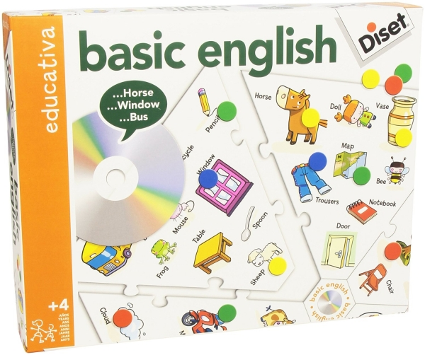 JOGO BASICO DE INGLES DISET * P63735