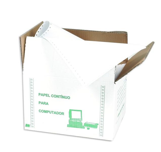 PAPEL COMPUTADOR 12X9,5 3V.A.L.CAIXA C/ 500JOG