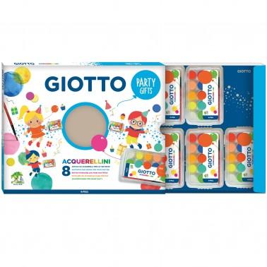 Set Giotto Party Gift Acuarelas 8 cx de 15 cores