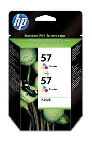 TINT.HP C9503AE PACK 2 57 CORES (2XC6657A)