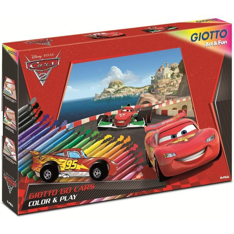 GIOTTO CARS SET COLOR AND PLAY