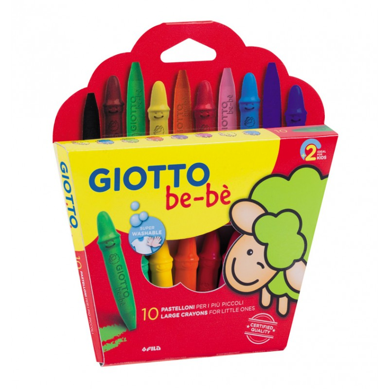 GIOTTO BE-BE CERA SUPER LAPIS Cx.10 uds. 479200